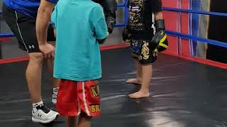 Johnny D. Yellow Belt Test . Boxing 2018