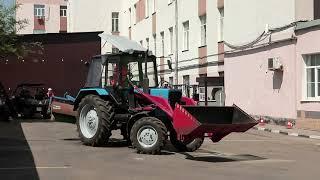 Обучение трактористов в Москве. Из чего состоит практическая часть экзамена