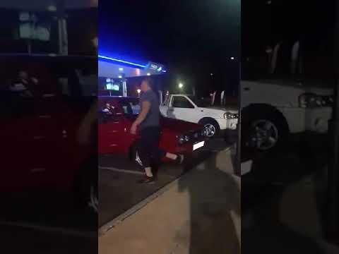 Drunk afrikaner causes havoc at kfc