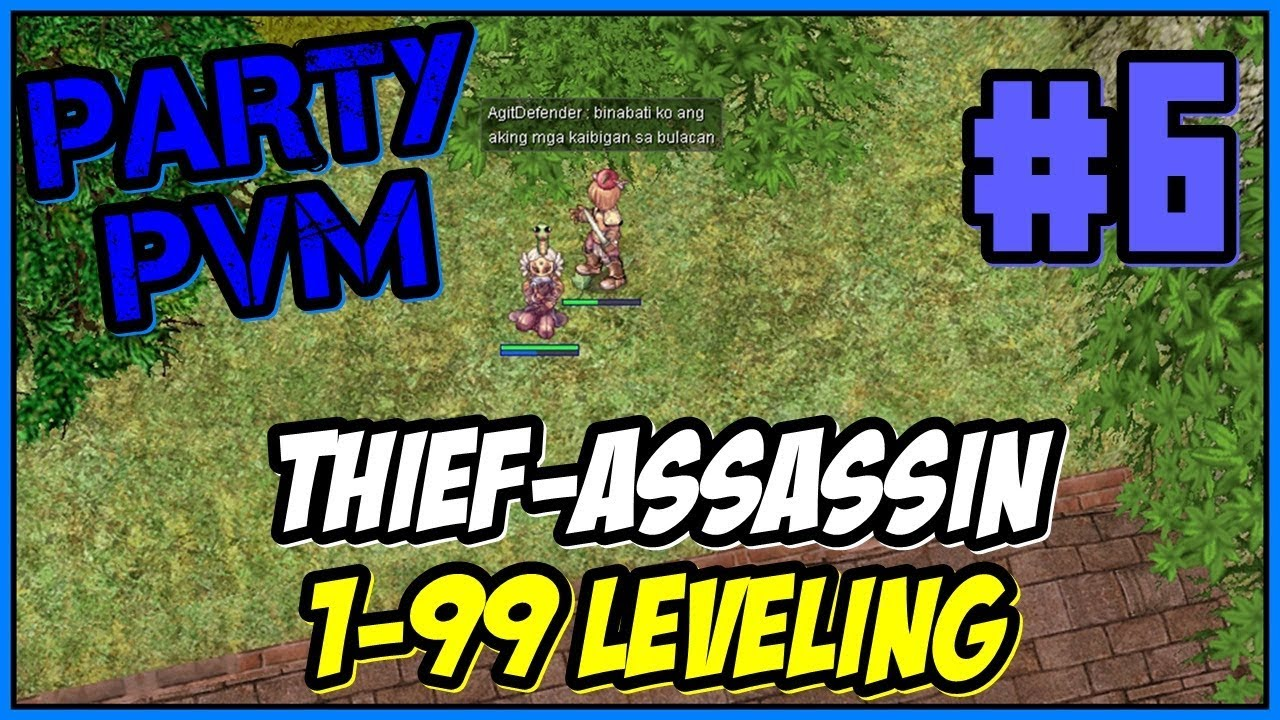 Doppelganger leveling build for thief