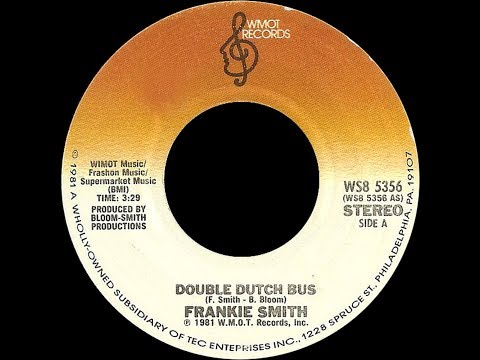 Frankie Smith ft Beverly Jones ~ Double Dutch/Double Dutch Bus 1981 Disco Purrfection Version