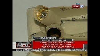 PAO: Lima ang entry point ng gunshot wounds kay Carl Angelo Ar…