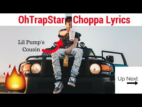 OhTrapStar - Choppa Lyrics