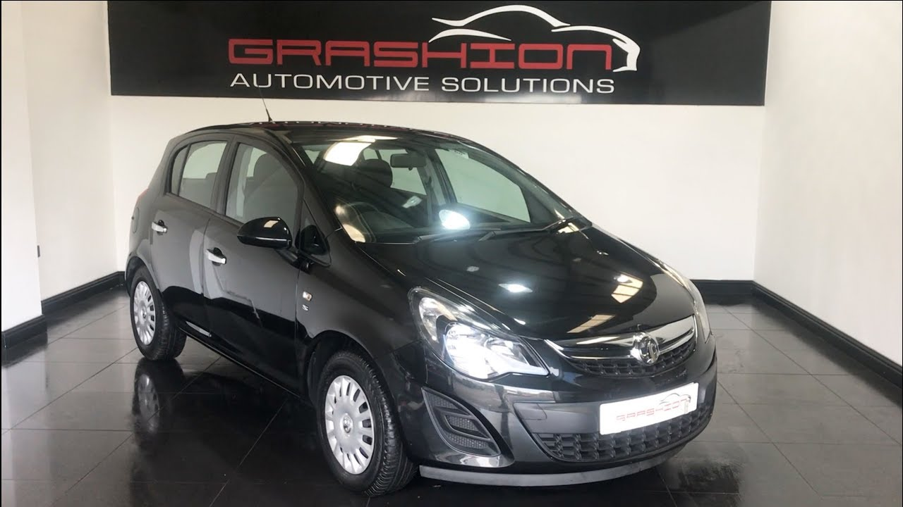 Vauxhall Corsa Air Con Low Insurance 51 Miles Per Gallon