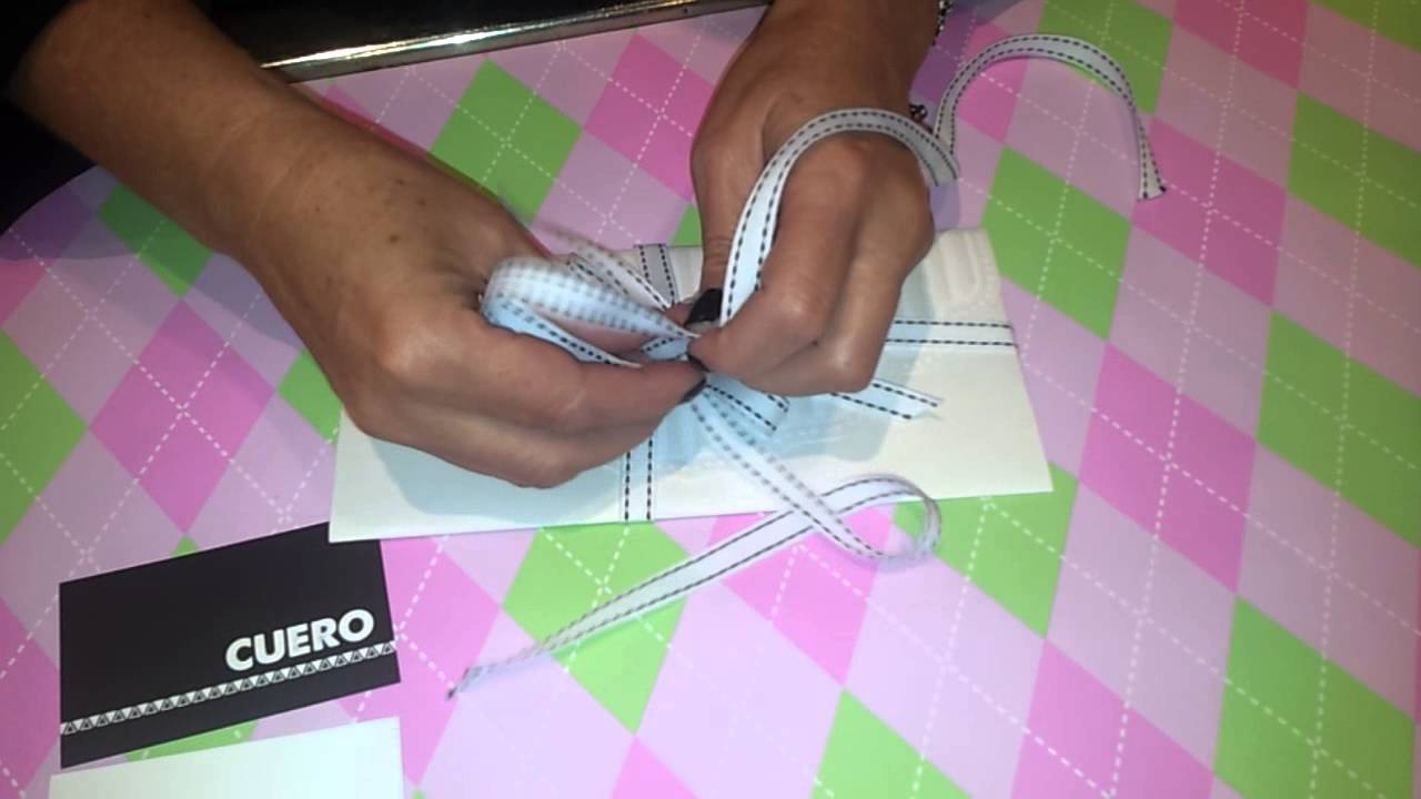 Howtodiy: Tie A Ribbon For Gifts, Envelopes, Vouchers The Easy Way