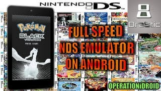 DraStic DS How To Get Nintendo DS on Android Device NO ROOT FULL SPEED 100