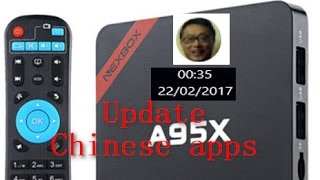 jimmy a95x tv box 中文台 apps update