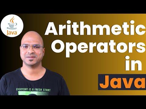 #2.5 Java Tutorial | Arithmetic Operators In Java