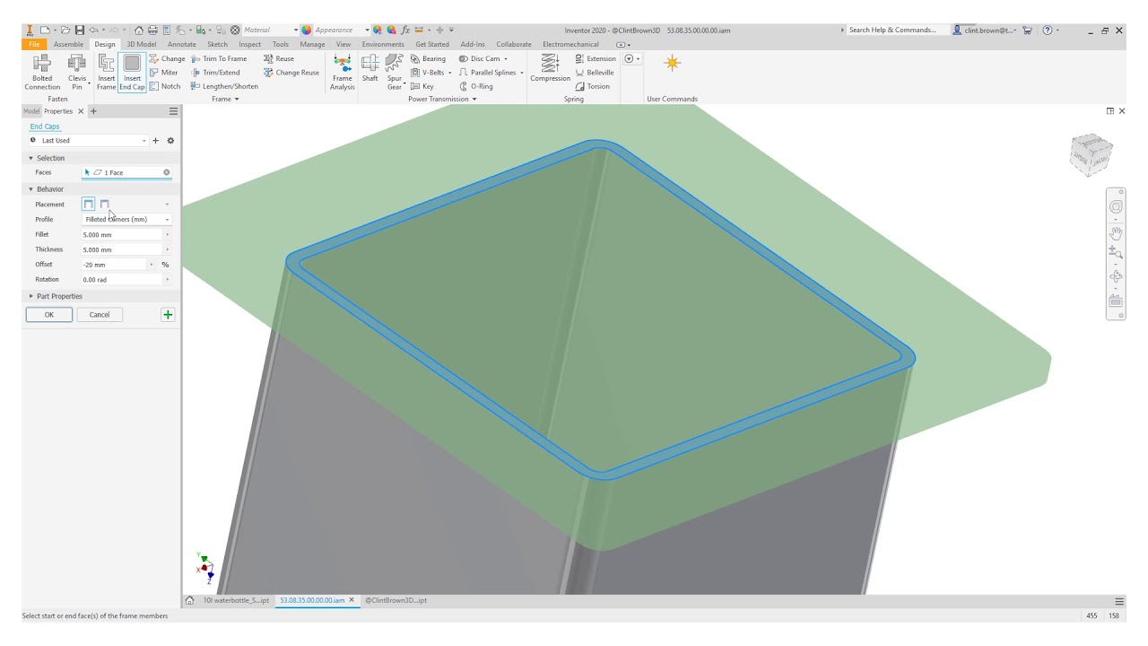 Autodesk Inventor 2020 - New Features