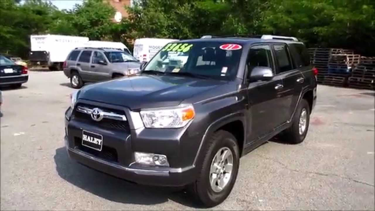 2011 Toyota 4Runner SR5 V6 4WD Walkaround, Start Up, Tour And Overview    YouTube
