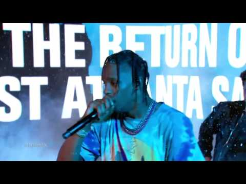 Gucci Mane feat  Travis Scott Performs 'Last Time'