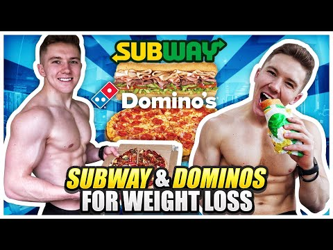 Best Fast Food For Weight Loss & Bodybuilding | Subway & Dominos!