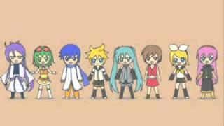 VOCALOID Nico Nico Douga Kae Uta Medley 4 PV(Part 2/2)
