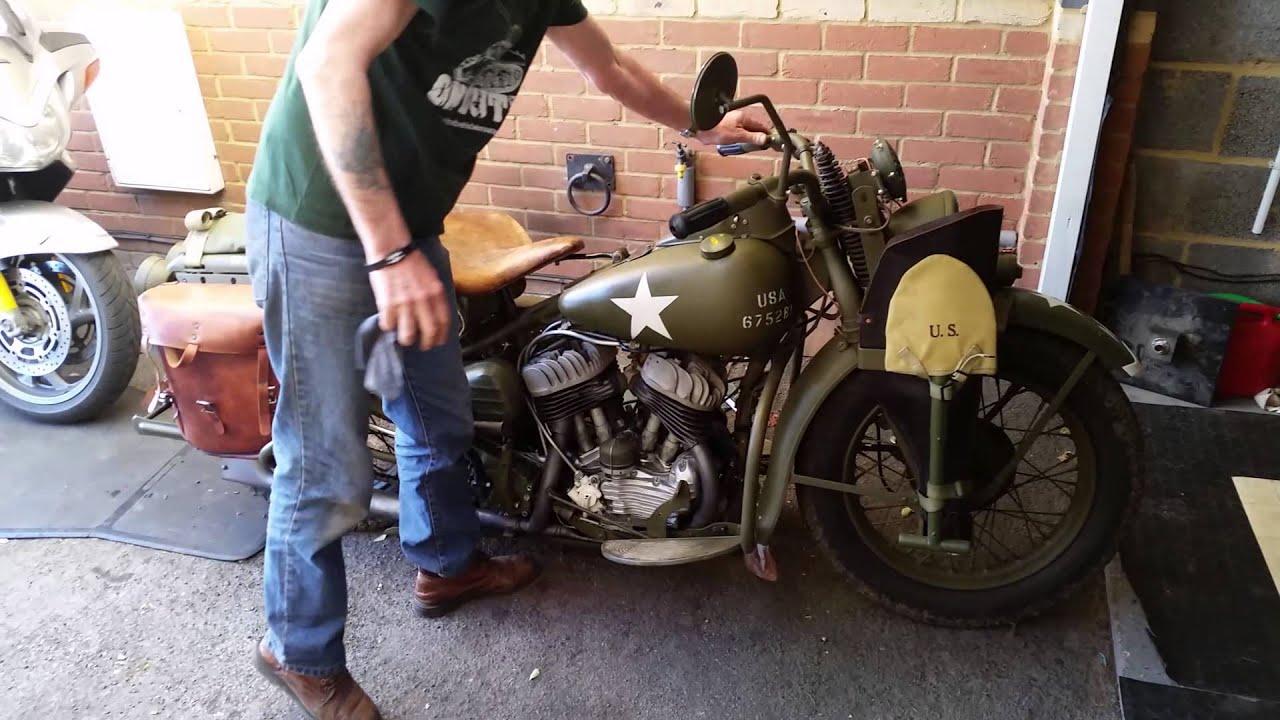 Harley Davidson World war 2 - YouTube