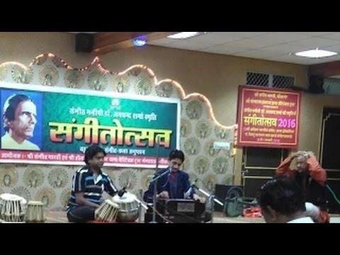 Vandana Ke Swar - LIVE by Master Nishad at Shree Sangeet Bharti, Bikaner