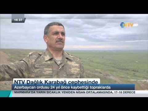 Dünyanın Haberi Özel... NTV Dağlık Karabağ Cephesinde