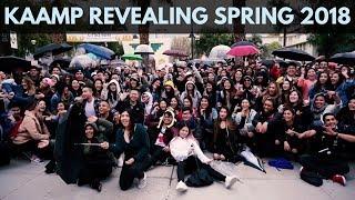 KAAMP Revealing Spring 2018