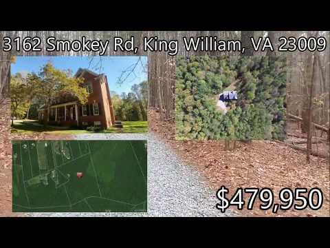 Home For Sale! - 3162 Smokey Rd, King William, VA 23009 - Virtual Tour