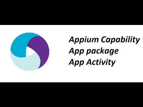 Appium App Package   Activity