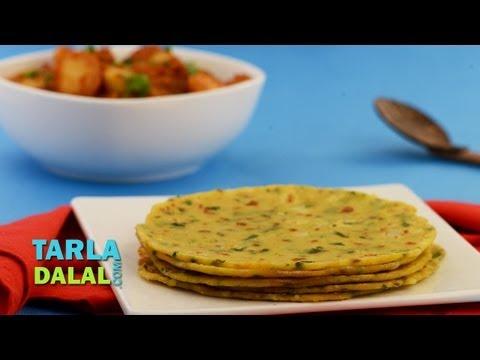 Potato Paneer Roti by Tarla Dalal