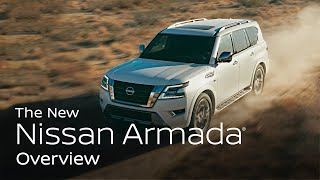 homepage tile video photo for 2021 Nissan Armada Walkaround & Review