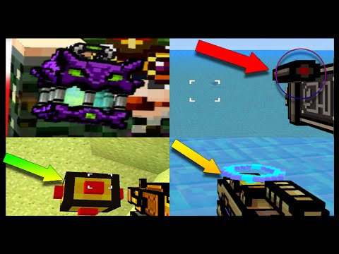 5 COOL Things You Can Do With Guns In Pixel Gun 3D