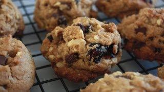 [베리베이크]verybake 크랜베리 초코칩 호두쿠키 Cranberry Chocolate Chips Walnut Cookies