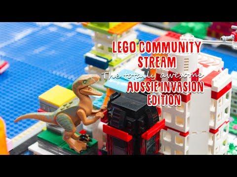 Lego Community Saturday Stream - Aussie Invasion Edition!! :O