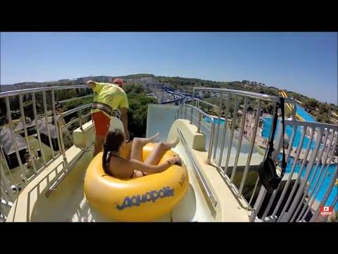 Aquapolis Waterpark. Salou. Spain. GoPro