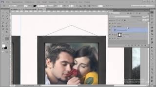 Видеоурок Photoshop Красивое оформление фотографий в рамках