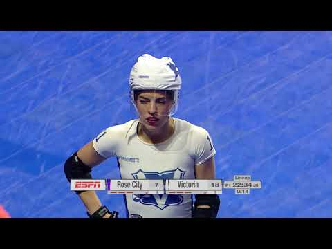 2017 International WFTDA Championships Game 16: Victorian Roller Derby League vs  Rose City Rollers