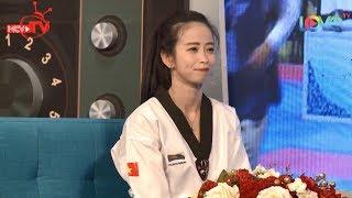 'Tan chảy' với hotgirl Taekwondo Việt Nam Châu Tuyết Vân CỰC XINH cả khi đánh võ lẫn phỏng vấn 😍