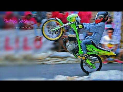Satria Fu Tercepat 201M Tembus 7 1detik Bebek 4 Tak 200cc Drag Bike