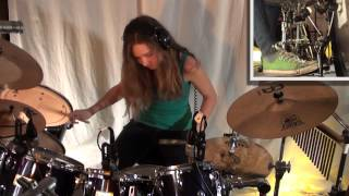Fates Warning - The Eleventh Hour; Drum Cover by a 14 year old girl
