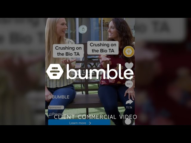 Bumble BFF Commercial Video - Made by Envy Creative