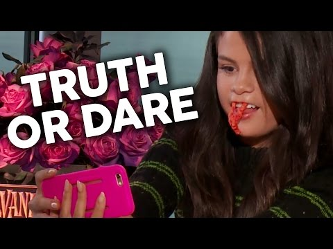 Truth or Dare: SELENA GOMEZ Whip & Nae Naes & Cheeto Fangs Herself