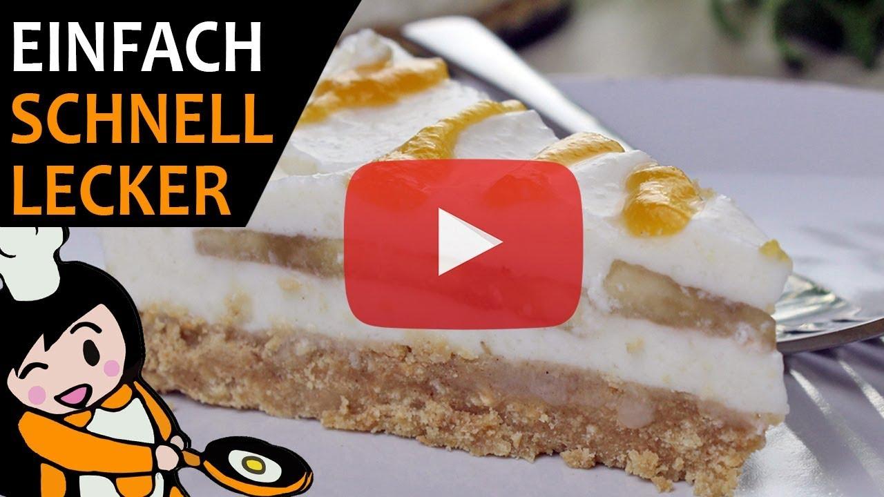 Bananen Joghurt Torte Rezept Videos Youtube