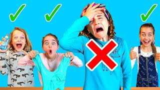 SABRE'S OUT!! In or Out Slime Challenge 3 By The Norris Nuts Video