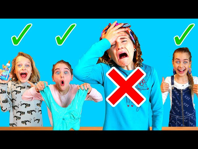 SABRE'S OUT!! In or Out Slime Challenge 3 By The Norris Nuts