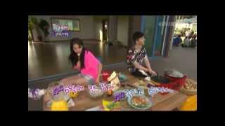 [BaeSuzy/배수지]  120707 IY2 ep31, to make a food to use potato, they know Jo-kwon but ^^!