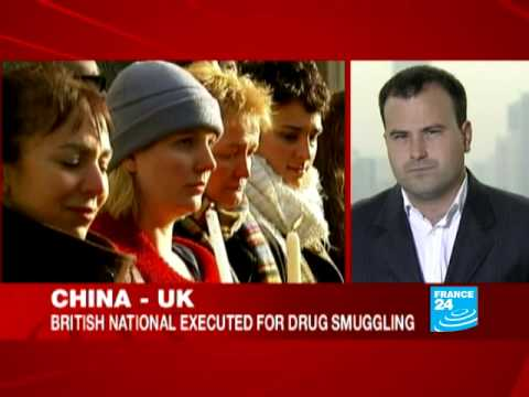 China executes British national accused of drug trafficking