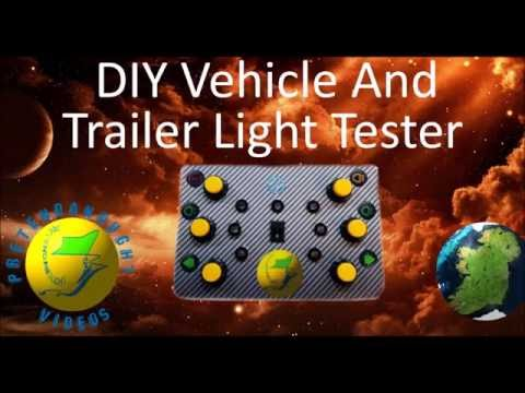 DIY Trailer Plug Light Tester Tutorial