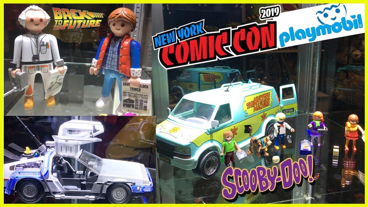 NYCC 2019 -  Playmobil: De Volta para o Futuro, Scooby Doo, Caça Fantasmas e Como Treinar seu Dragão