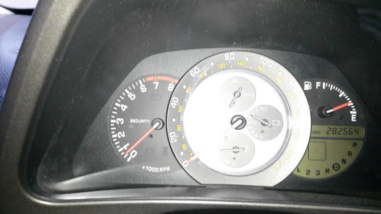 Really low idle? - Lexus IS Forum