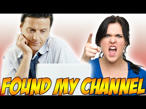 Thumbnail: PARENTS FOUND MY CHANNEL