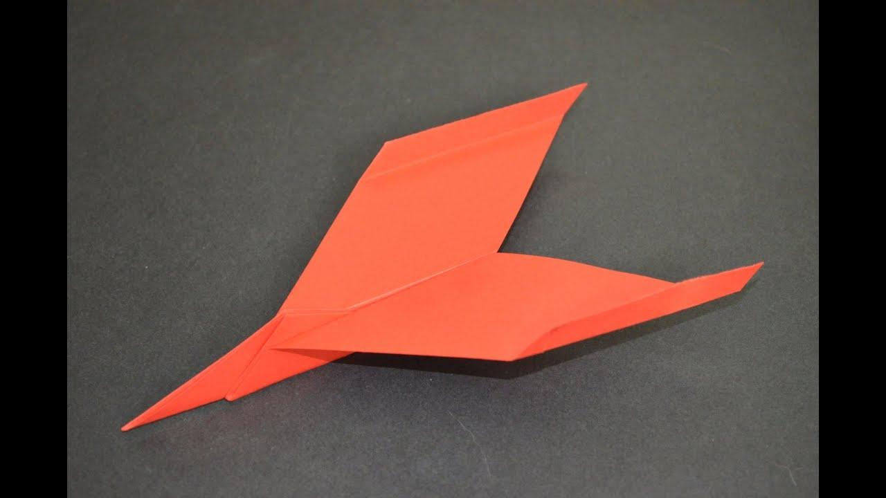 Como Hacer Un Avion De Papel Que Vuela Mucho Aviones De Papel Origami Avión Youtube