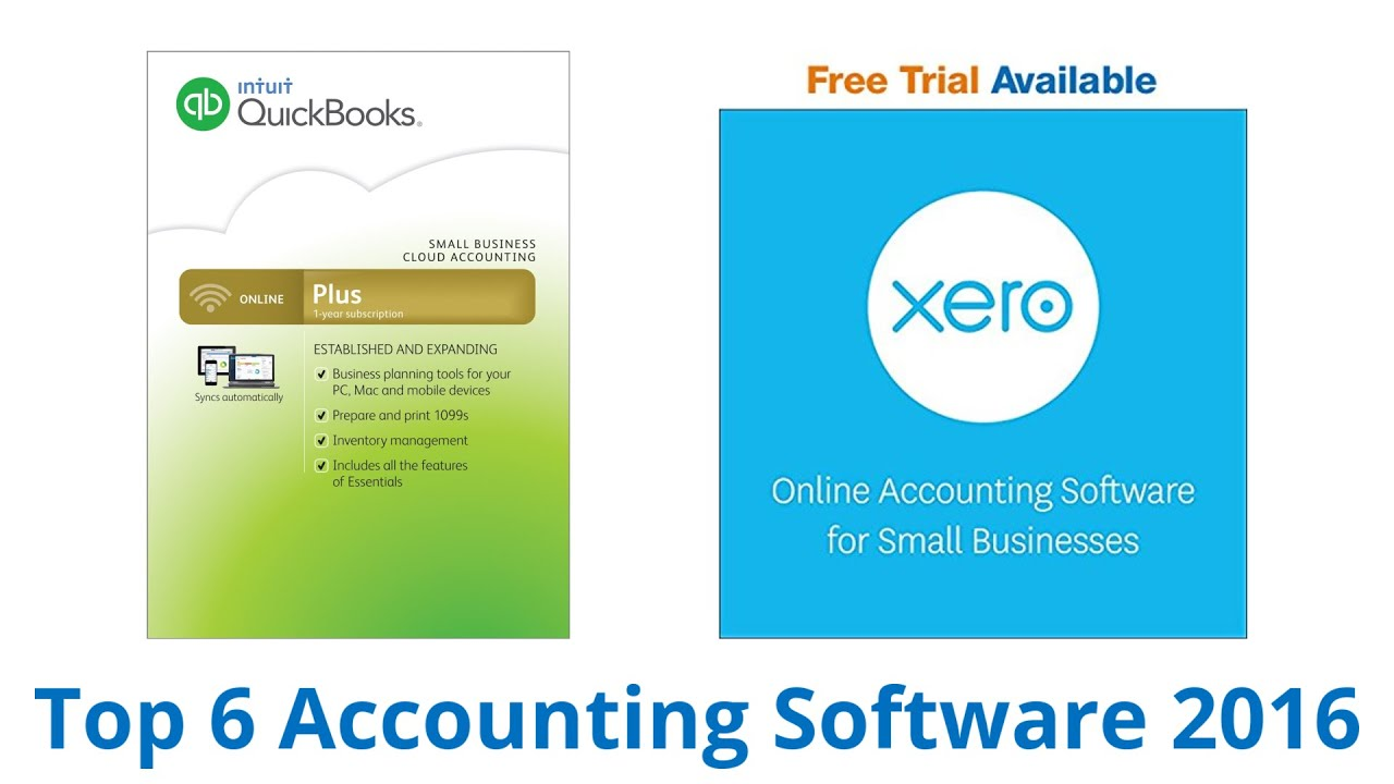 6 Best Accounting Software 2016  Youtube