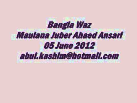 Maulana Juber Ahmed Ansari  June 2012 New