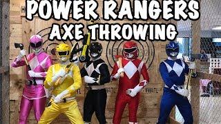 Power Rangers De Hache