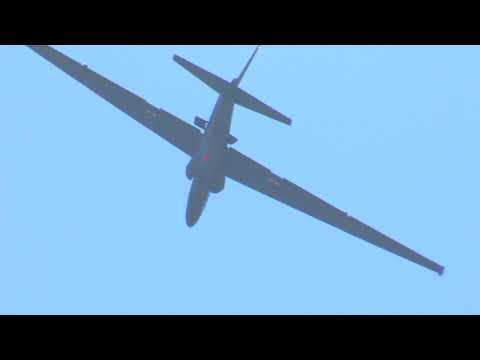 Lockheed U-2 Steep Takeoff at the California Capital Airshow